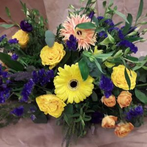 Gerbera Mix Funeral Spray