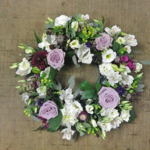 Garden Flower Wreath