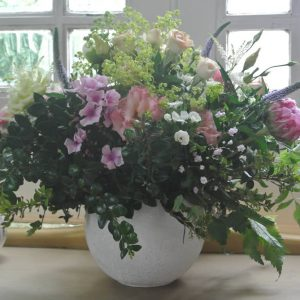 Garden Style Bowl Arrangement